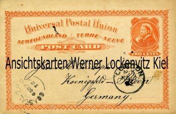 Postal Stationary Ganzsache Canada Newfoundland TWO CENTS