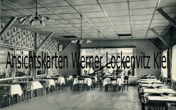 Ansichtskarte Reinfeld Forsthaus Bolande Bes. Franz Freier Innenansicht
