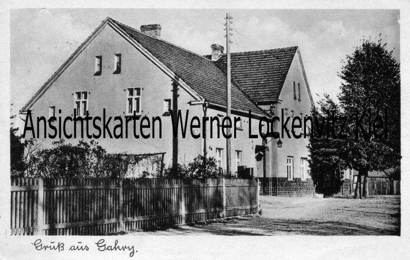 Ansichtskarte Wiesengrund-Gahry Gasthaus Zur Linde Inh. Walter Noack