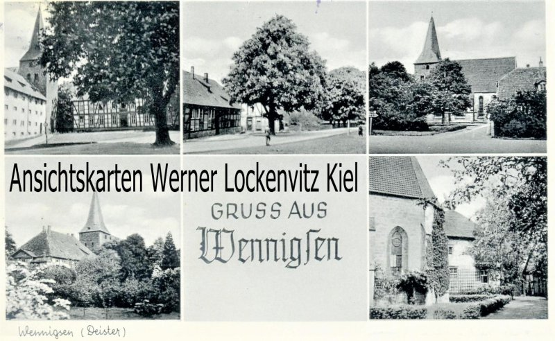 Ansichtskarte Wennigsen Deister Ortsansichten