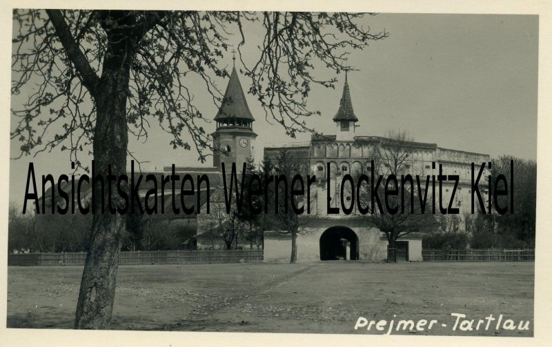 Ansichtskarte Rumänien Prejmer Tartlau Kirchenburg
