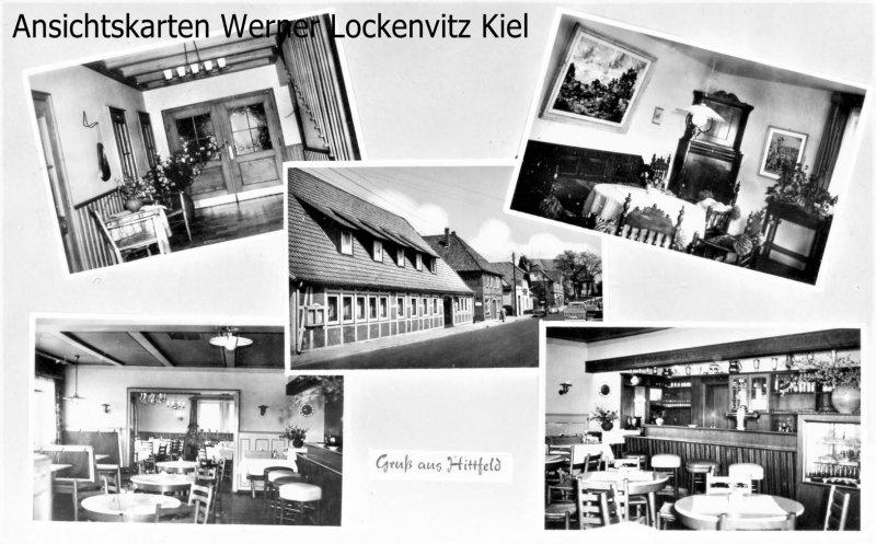 Ansichtskarte Hittfeld Krohwinkels Gasthaus Bes. Jakob Prange