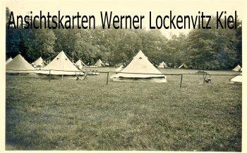 Ansichtskarte Bad Bramstedt Zeltlager BDM