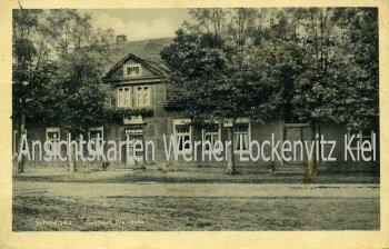 Ansichtskarte Dannenberg-Schmarsau Gasthaus Warnecke mit LPStpl.