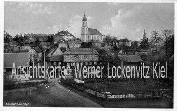 Ansichtskarte Seifhennersdorf Ortsansicht