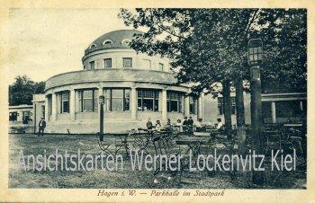 Ansichtskarte Hagen Parkhalle im Stadtpark