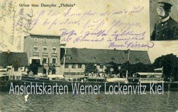 Ansichtskarte Dampfer Phönix Linie Memel-Königsberg
