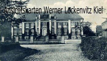 Ansichtskarte Gelting Stangheck Schloss Gut Herrenhaus Rundhof Landschaft Angeln