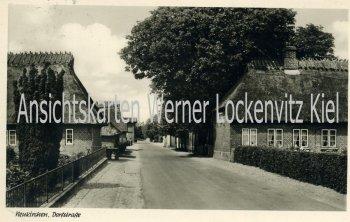 Ansichtskarte Neukirchen über Sörup Dorfpartie Ortsstrasse