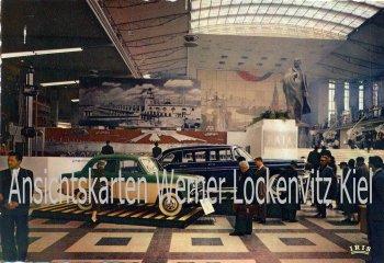 Ansichtskarte Belgien Weltausstellung Brüssel 1958 Pavillon der UDSSR Automobile