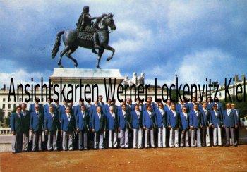 Ansichtskarte Frankfurt Polizeichor in Lyon Sonderstempel