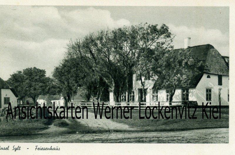 Ansichtskarte Sylt Friesenhaus