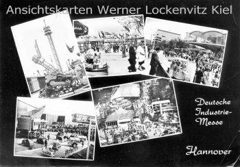 Ansichtskarte Hannover Deutsche Industrie-Messe mit Sonderstempel