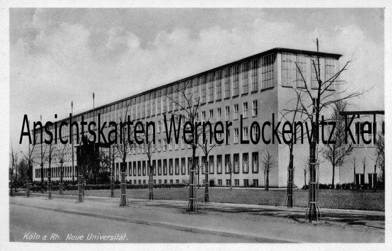 Ansichtskarte Köln Neue Universität