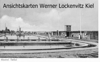 Ansichtskarte Wunstorf Freibad