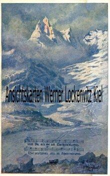 Ansichtskarte Österreich Vom Tal bis an die Gletscherwand Liedkarte Kärnten