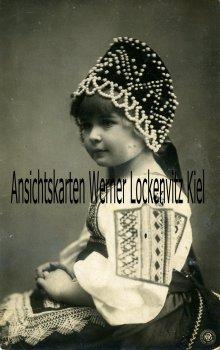 Ansichtskarte Berlin-Steglitz Kleines Mädchen in Tracht