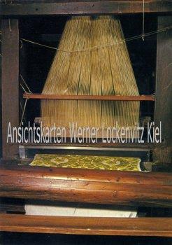 Ansichtskarte Rheydt Städt. Museum Samtwebstuhl mit Jacquardmaschine