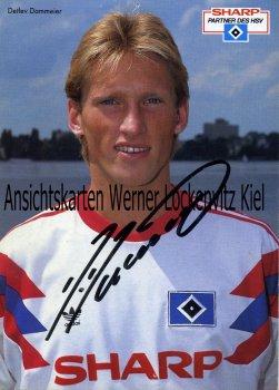Ansichtskarte Detlev Dammeier Mitelfeldspieler HSV  Fußball Bundesliga
