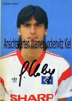 Ansichtskarte Carsten Kober HSV Fußball Bundesliga