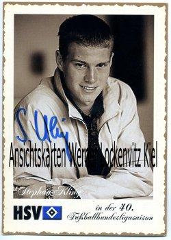 Ansichtskarte Stephan Kling Abwehr HSV Fußball Bundesliga