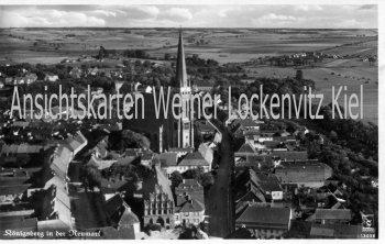 Ansichtskarte Polen Pommern Königsberg Neumark Ortsansicht