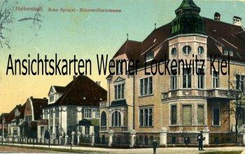 Halberstadt Ecke Spiegel- Hohenzollernstrasse
