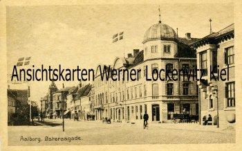 Ansichtskarte Dänemark Danmark Aalborg Oesteraagade
