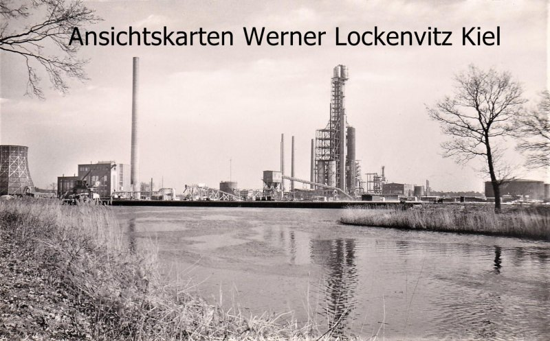 Ansichtskarte Lingen Ems Erdölraffinerie Emsland