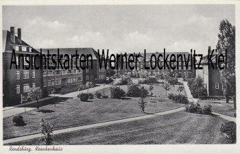 Ansichtskarte Rendsburg Krankenhaus