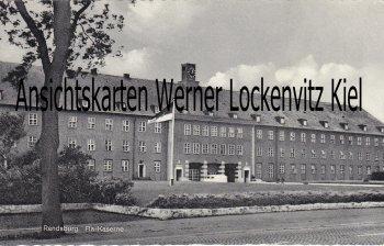 Ansichtskarte Rendsburg Fla-Kaserne