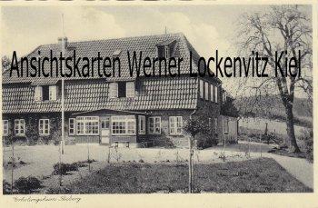 Ansichtskarte Waabs-Langholz Erholungsheim Seeberg