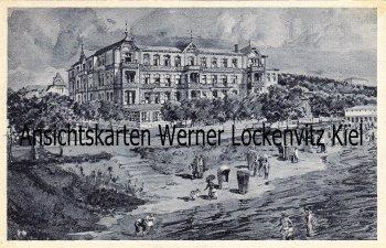 Ansichtskarte Ostseebad Heringsdorf-Ahlbeck Das Ostseeheim Usedom