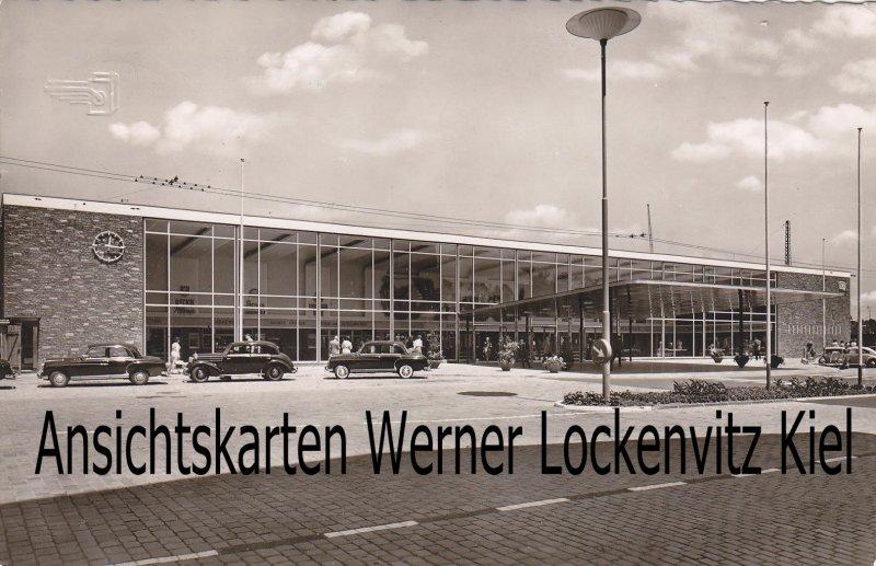 Ansichtskarte Pforzheim Bahnhof