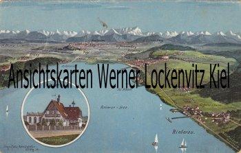 Ansichtskarte Rund um den Ammersee Riederau Erholungsheim