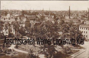 Ansichtskarte Limbach-Oberfrohna Ortsansicht
