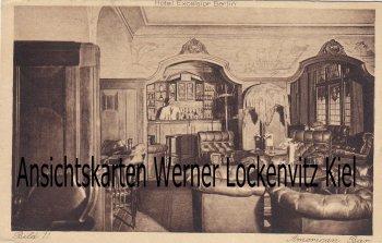 Ansichtskarte Berlin Hotel Excelsior American Bar