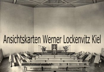 Ansichtskarte Trappenkamp Kirche Innenansicht