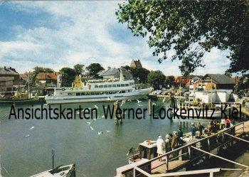Ansichtskarte Heiligenhafen Hafen