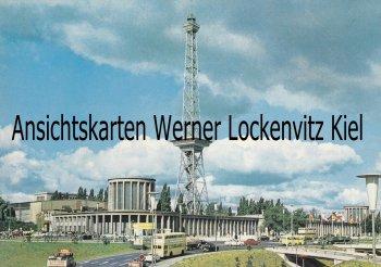 Ansichtskarte Berlin Funkturm und Ausstellungshallen