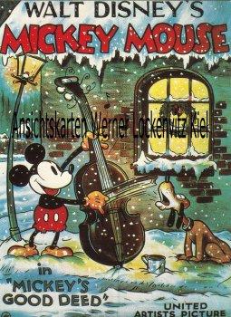 Ansichtskarte in Mickeys Deed Walt Disney Comic
