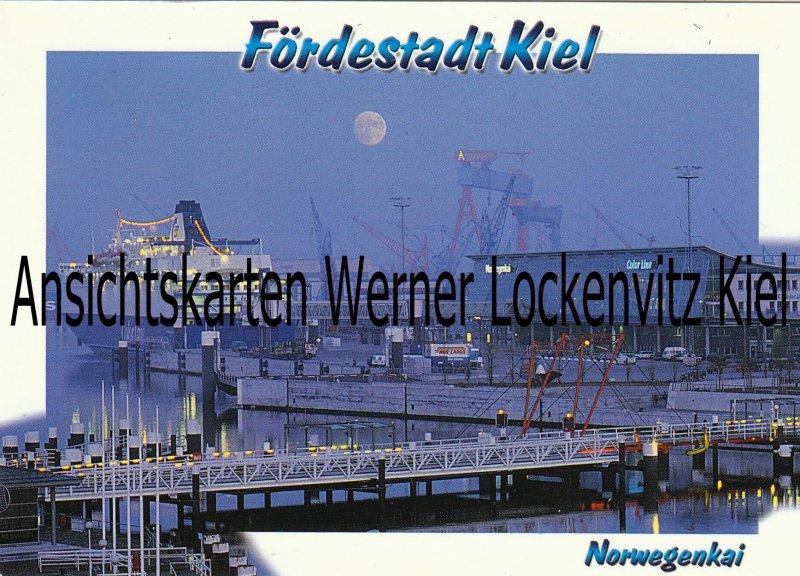 Ansichtskarte Kiel Norwegenkai