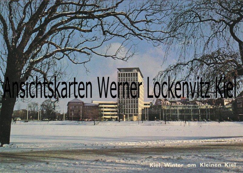 Ansichtskarte Winter am Kleinen Kiel