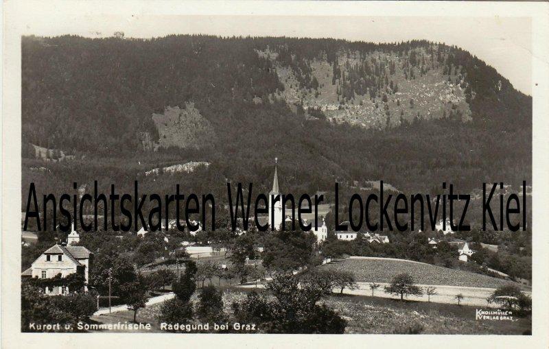 Ansichtskarte Österreich Radegund Ortsansicht Steiermark
