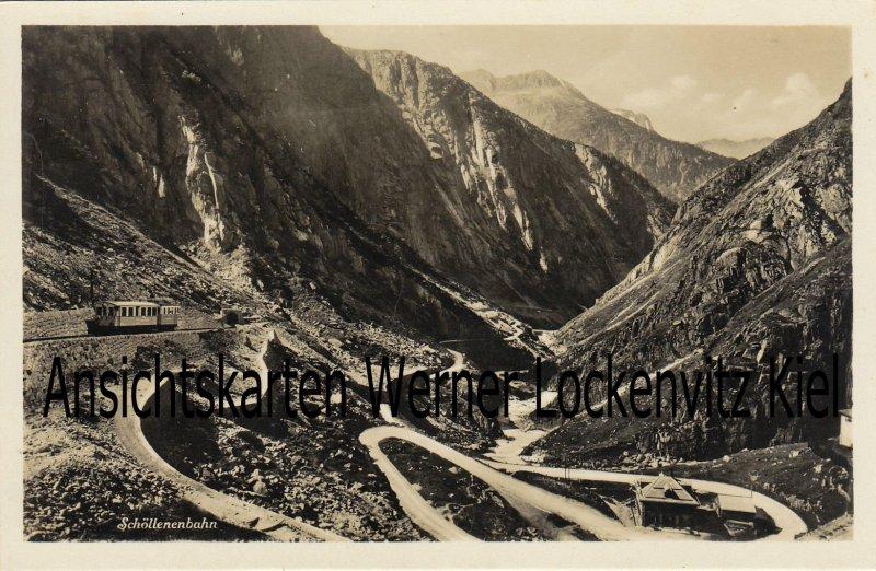 Ansichtskarte Schweiz Schöllenenbahn
