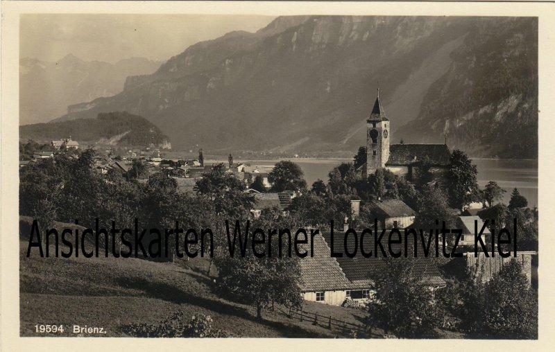 Ansichtskarte Schweiz Brienz Ortsansicht Bern