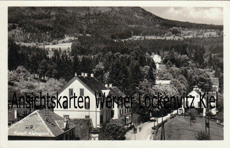 Ansichtskarte Österreich Radegund Straßenansicht Steiermark