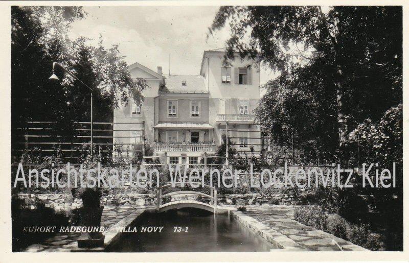 Ansichtskarte Österreich Radegund Villa Novy