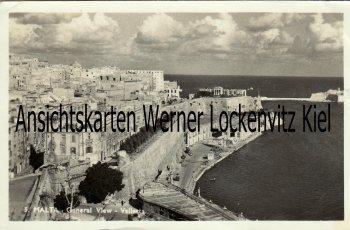 Ansichtskarte Malta Valetta General View