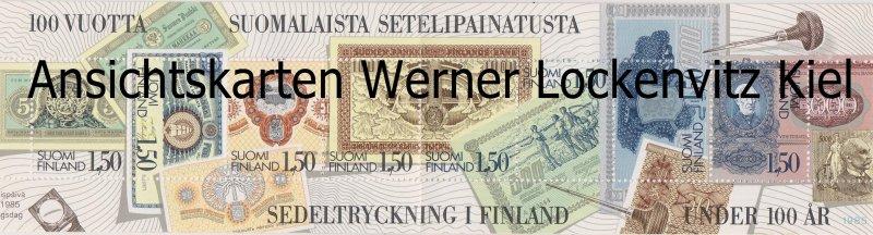 Markenheftchen Finnland Banknoten Bank of Finland